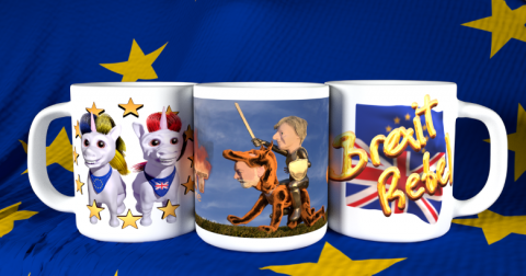 Brexit Mugs from condensed sense